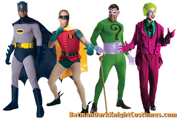60s Batman TV Costumes for Halloween