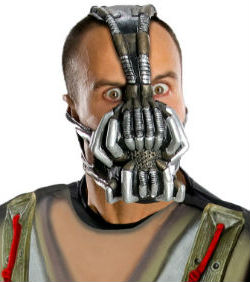 Dark Knight Bane Mask for Adults