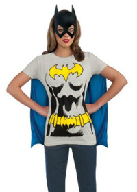 Adult Batgirl T-Shirt Costume Kit