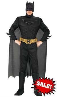 Deluxe Dark Knight Adult Man Batman Costume Sale