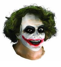 Adult Joker Foam Latex Mask Dark Knight