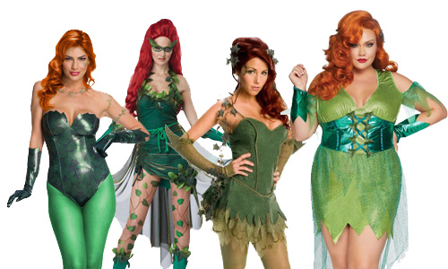 Adult Poison Ivy Costumes