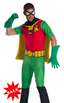 Teen Titans Robin Costume for Men