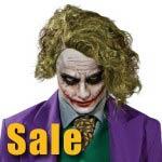 Halloween The Joker Adult Wig for sale