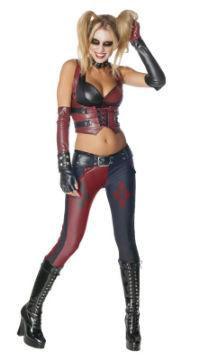 sexy Arkham City Harley Quinn Halloween costume