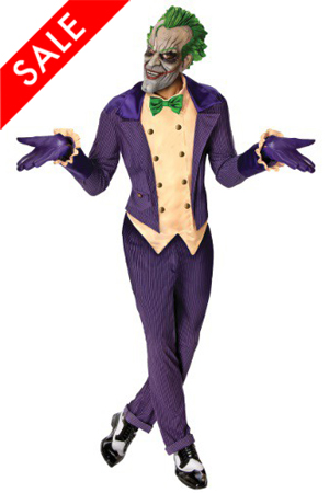 Batman Arkham City The Joker Costume for Men