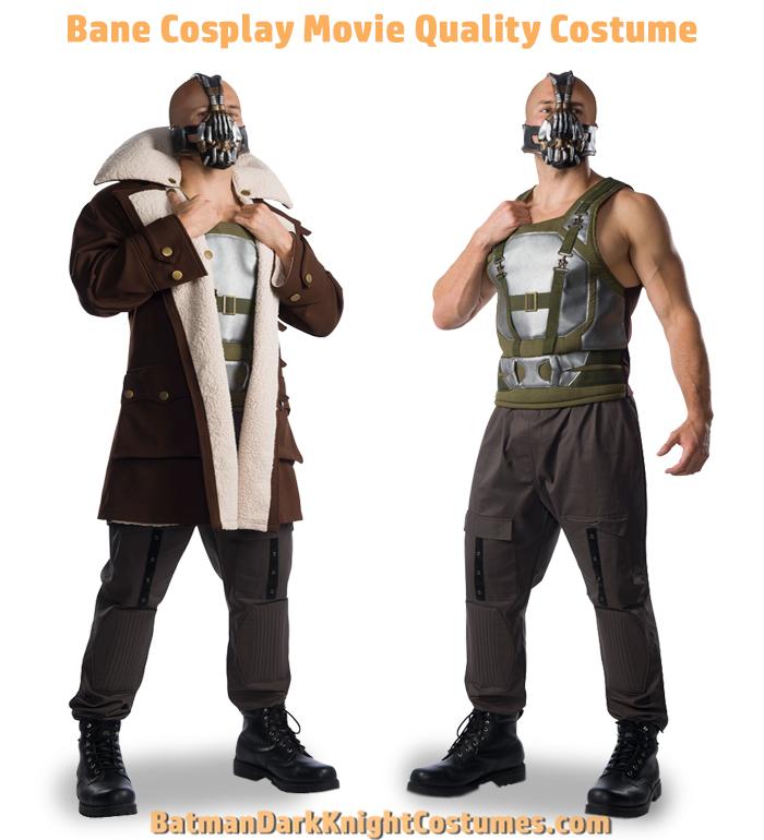 Bane Cosplay Movie Costume