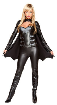 Bat Woman Costume