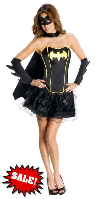 Secret Wishes Batgirl Corset Costume