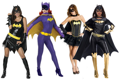 Batgirl Halloween Costumes for Women
