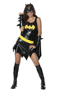 Teen Batgirl Halloween Costume