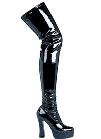 Black Thigh High Boots Batgirl