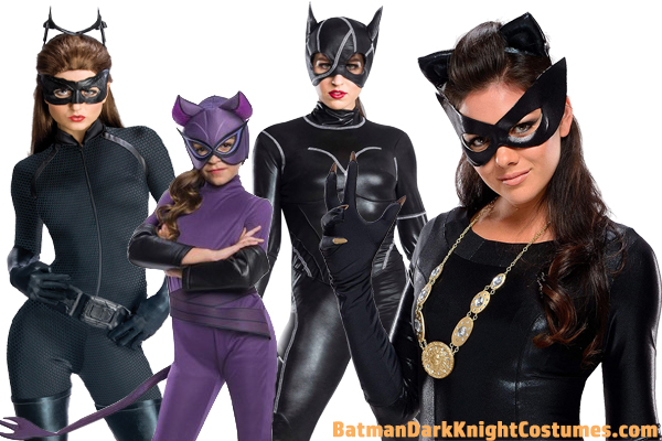 Batman Catwoman Costumes for Halloween