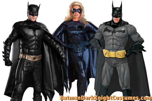 Batman Movie Costumes for Cosplay
