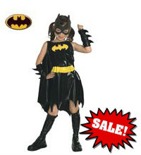 Deluxe Batgirl Child Girl Costume