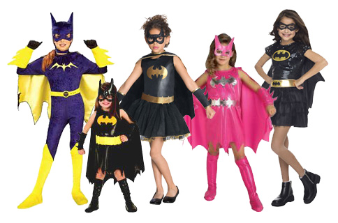 Child Batgirl Costumes