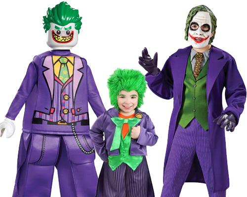 child Joker Costumes from Batman