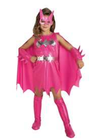 Pink Batgirl Halloween Costume