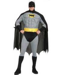 Plus Size Classic Batman Costume