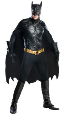 Dark Knight Rises Batman Grand Heritage Costume Cosplay