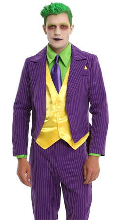 DC Comics The Joker Men's Costume