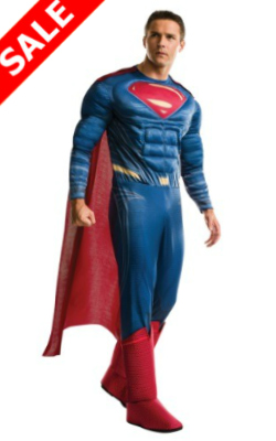 Deluxe Mens Dawn of Justice Superman Costume