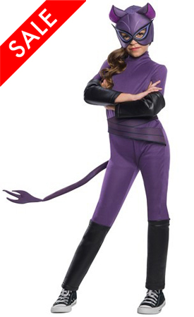 DC Superhero Girls Catwoman Costume for Kids