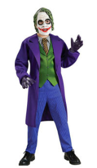 Deluxe Child Joker Halloween Costume