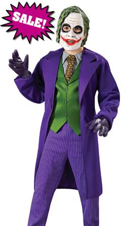 Deluxe Child Joker Halloween Costume