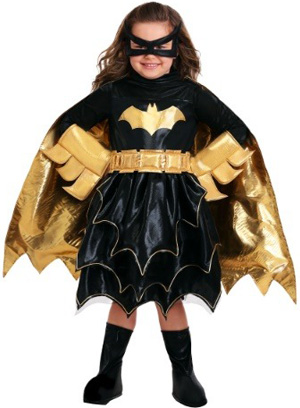 Deluxe DC Comics Batgirl Costume for Girls