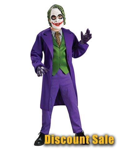 Deluxe Joker Halloween Costume Sale