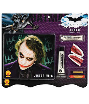 Heath Ledger Deluxe Joker Make up Kit with Wig