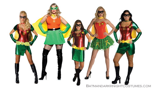batman female robin costume