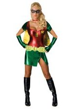 medium sexy Robin woman Halloween Costume