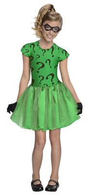Girl's Riddler costume