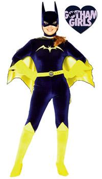 classic Batgirl Halloween costume
