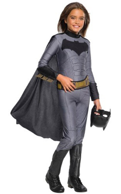 Child DC Grey Batgirl Costume