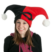 Harley Quinn Character Hat