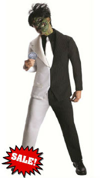 Batman Two Face Men's Plus Size Costume