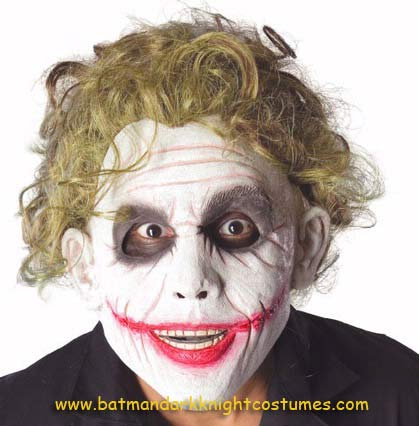 Joker masks from Dark Knight