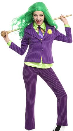 DC Comics The Joker Women's Costume
