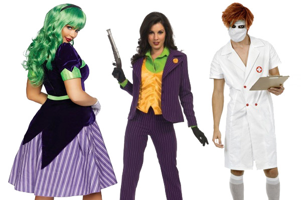 Joker Women Halloween Costumes