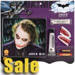 Heath Ledger Deluxe Joker Make up Kit with Wig