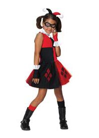 Child Harley Quinn Costume for Girls