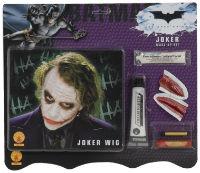 Kid Joker Make up Kit with Green Wig