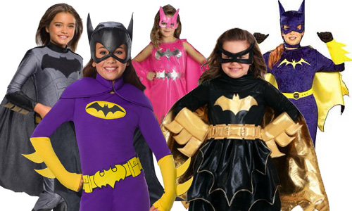 Child Batgirl Halloween Costumes