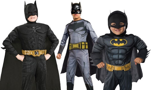 Kids Batman Halloween Costumes for Boys