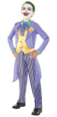 Kids Classic Joker Costume Batman TV Show