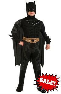 The Dark Knight Rises Child Batman Light-Up Costume