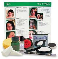 Mehron Evil Joker Villain Makeup Kit